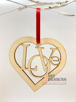Love Hanging Heart