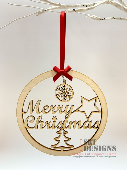 Merry Christmas Hanging Gift
