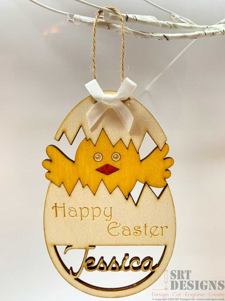 Personalised Easter Hanging Gift
