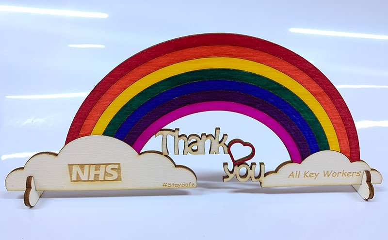 NHS Rainbow - Thank you to NHS and all key workers.